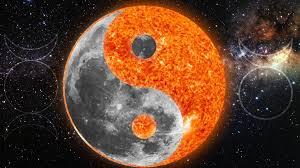 sun and moon yin yang with pagan symbols by inmate0801 on deviantart