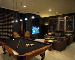 man cave table and chairs surprise man cave furniture dark media room with pool table more