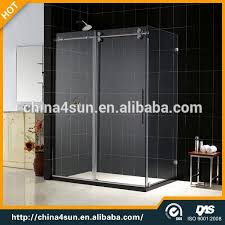 Glass Shower Door Stop Glass Sliding Shower Doors China Shower Sliding Doors Aluminum