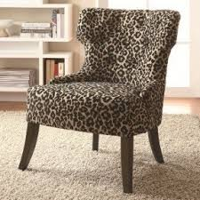 Leopard Print Accent Chair Fantastic Animal Print Accent Chair For Your Home Designing