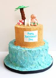 lazy day beach cake retirement cake design savor the best