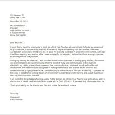 teacher cover letter no experience image collections cover