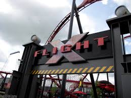 X Flight At Six Flags Six Flags Great America Remains One Of The Better Parks In The Six