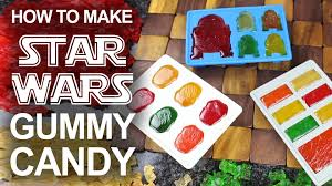 how to make u0027star wars u0027 themed gummies using melted gummy bears