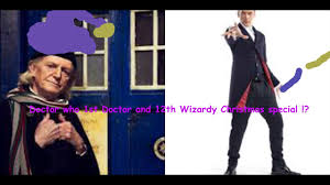 eleventh doctor halloween costume doctor who 1st doctor and 12th in a wizardly christmas special
