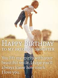 happy birthday my dear daughter special wishes thumbi