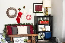 Our Christmas Living Room Tour - Thrifty home decor