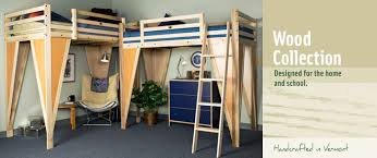 Free Loft Bed Plans For College by Timbernest Loft Beds Wood Bedlofts Bunk Beds And Loft Bed Shelves