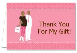 thank you baby shower baby shower thank you cards silhouette american