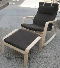 Ikea Poang Ottoman Uhuru Furniture Collectibles Ikea Poang Rocker W Ottoman Sold