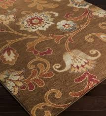 Brown Paisley Rug Surya Arabesque Large Print Floral And Paisley Rug Lamps Com