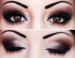 black smokey eye for brown eyes brown eyes with makeup for middot when choosing eyeshadow you should always take into consideration your