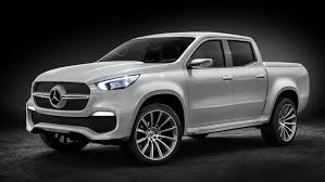this is the mercedes benz x class a posh pick up concept car