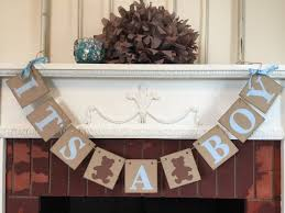 teddy baby shower decorations its a boy banner teddy baby shower decorations baby