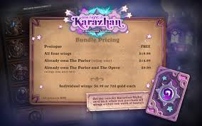 one in karazhan hearthstone s newest adventure gives a free