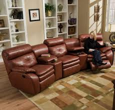 living room dual recliners with cup holders reclining