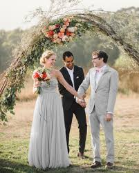 wedding arch log 59 wedding arches that will instantly upgrade your ceremony