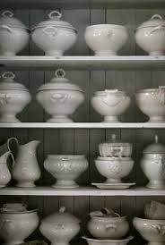 The White China Barn Swoon Open Shelving With White Dishes Holman Ledge Pottery