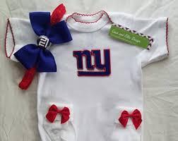 Ny Giants Crib Bedding Ny Giants Baby Etsy