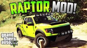 Ford Raptor Hunting Truck - gta v ford f 150 raptor svt mod youtube