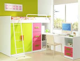 lits mezzanine avec bureau chambre fille avec lit superpose lit mezzanine avec bureau armoire