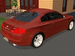 2004 Infiniti G35 Coupe Interior Mod The Sims 2007 Infiniti G35 Coupe