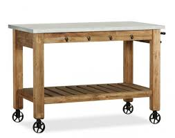 kitchen island free standing 12 freestanding kitchen islands pottery barn and wheels