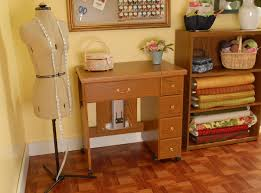 gidget sewing machine table marvelous wood sewing machine table plans photos in cabinets
