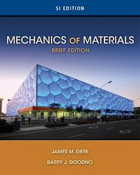 mechanics of materials si edition 9781337093354 cengage