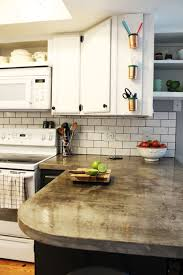 how to install a subway tile kitchen backsplash closer look to the subway tiles on the kitchen