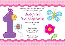 1st birthday party invitation templates free iidaemilia com