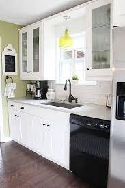 White Kitchen Ideas For Small Kitchens Best 25 Small White Kitchens Ideas On Pinterest Small Kitchens