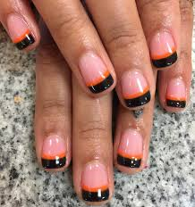 orange nail designs image collections nail art designs