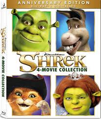 shrek 4 movie collection blu ray anniversary edition shrek