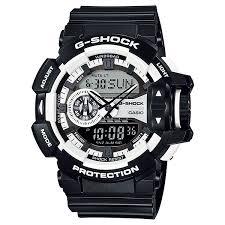 Harga Jam Tangan G Shock Original Di Indonesia jam tangan g shock original pria ga 400 1adr hitam putih