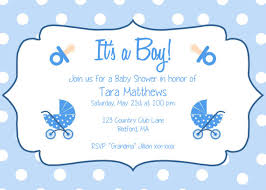 stunning free printable baby shower invitations templates for boys