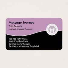 Massage Therapy Business Cards Licensed Massage Therapist Business Cards U0026 Templates Zazzle
