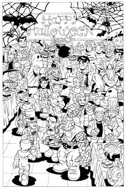 hard halloween coloring pages disneyland coloring pages coloringsuite com