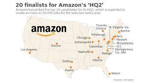 Metro Atlanta Map Is Someone Trying To Knock Atlanta Off The Amazon Contender List