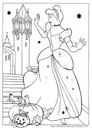 disney halloween color pages free halloween coloring