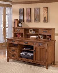 furniture elegant credenza desk for dynamic workspace