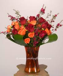Vase With Roses Fresh Roses Delivered Today Vickies Flowers Brighton Co Best
