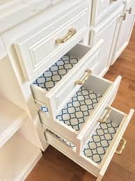 what is the best liner for kitchen cabinets liberty 18 in navy quatrefoil adhesive shelf liner dln006