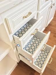 should i put shelf liner in new cabinets liberty 18 in navy quatrefoil adhesive shelf liner dln006