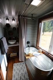 best ideas about tiny house bathroom pinterest shower seen season tiny luxury this spacious spa like bathroom