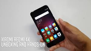 Redmi 4x Xiaomi Redmi 4x Unboxing And On