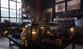 interior eclectic home decor ideas steampunk interior design 26
