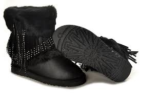 ugg s boots black ugg mini cuff boot ugg boots black 5825 outlet uggs