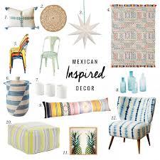 inspired decor mexican inspired decor jillian harris