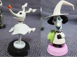 nightmare before cake topper skellington sally 6